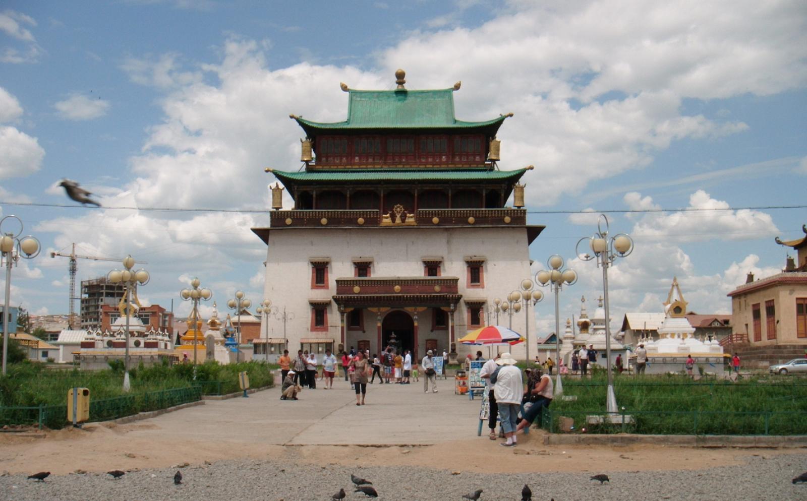 モンゴルで海外ボランティア 到着案内